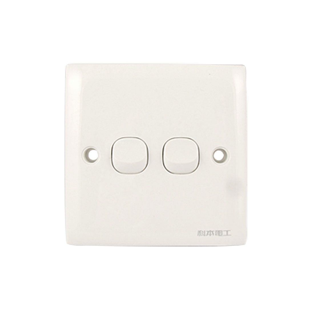 Replacement AC 250V 10A SPDT On/On 2 Gang Plate Wall Switch