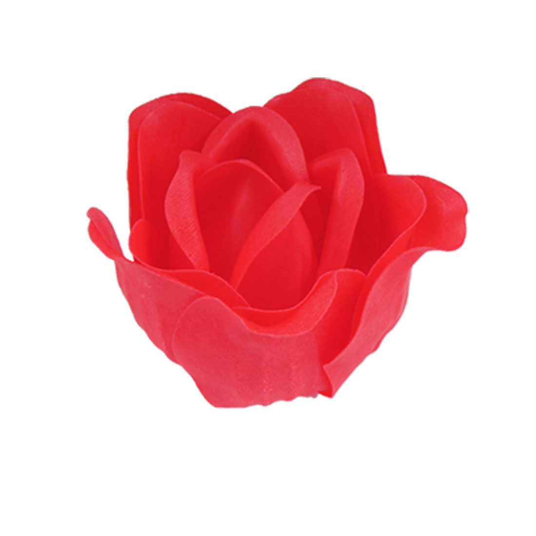 Red Rose Flower Design Bath Bathing Soap Petals Favors