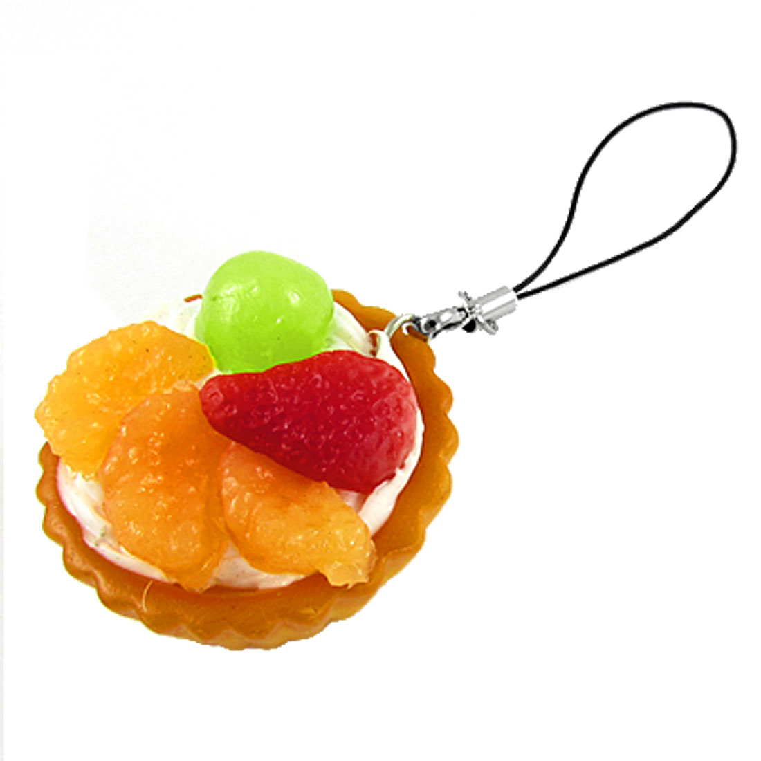 Cell Phone Plastic Fruit Butter Bowl Pendant Decoration