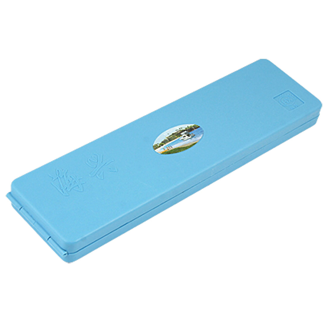 Portable Blue Plastic Fishing Branching Line Box Case