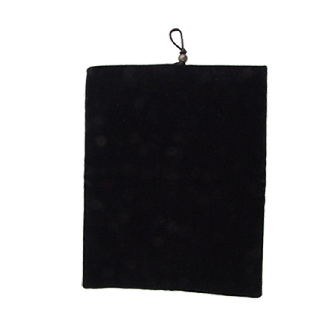 """10"""" Black Velvet Sleeve Bag Pouch for Apple iPad 1 2 Tablet PC"""