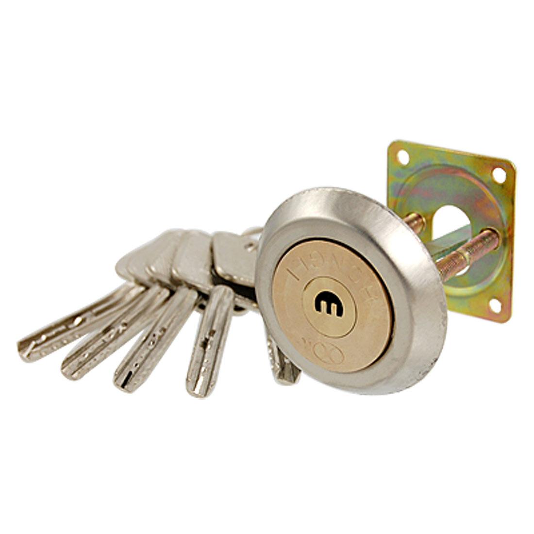 Cabinets Gates Brass Tone E Keyhole Tapered Ned Doors Lock Set
