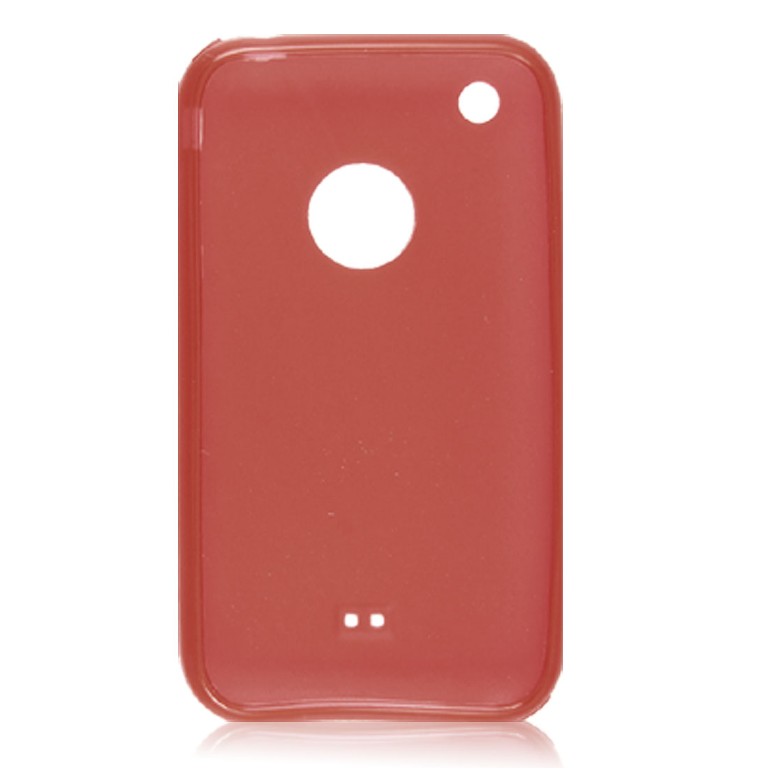 Red Soft Plastic Protector Case for Apple iPhone 3G