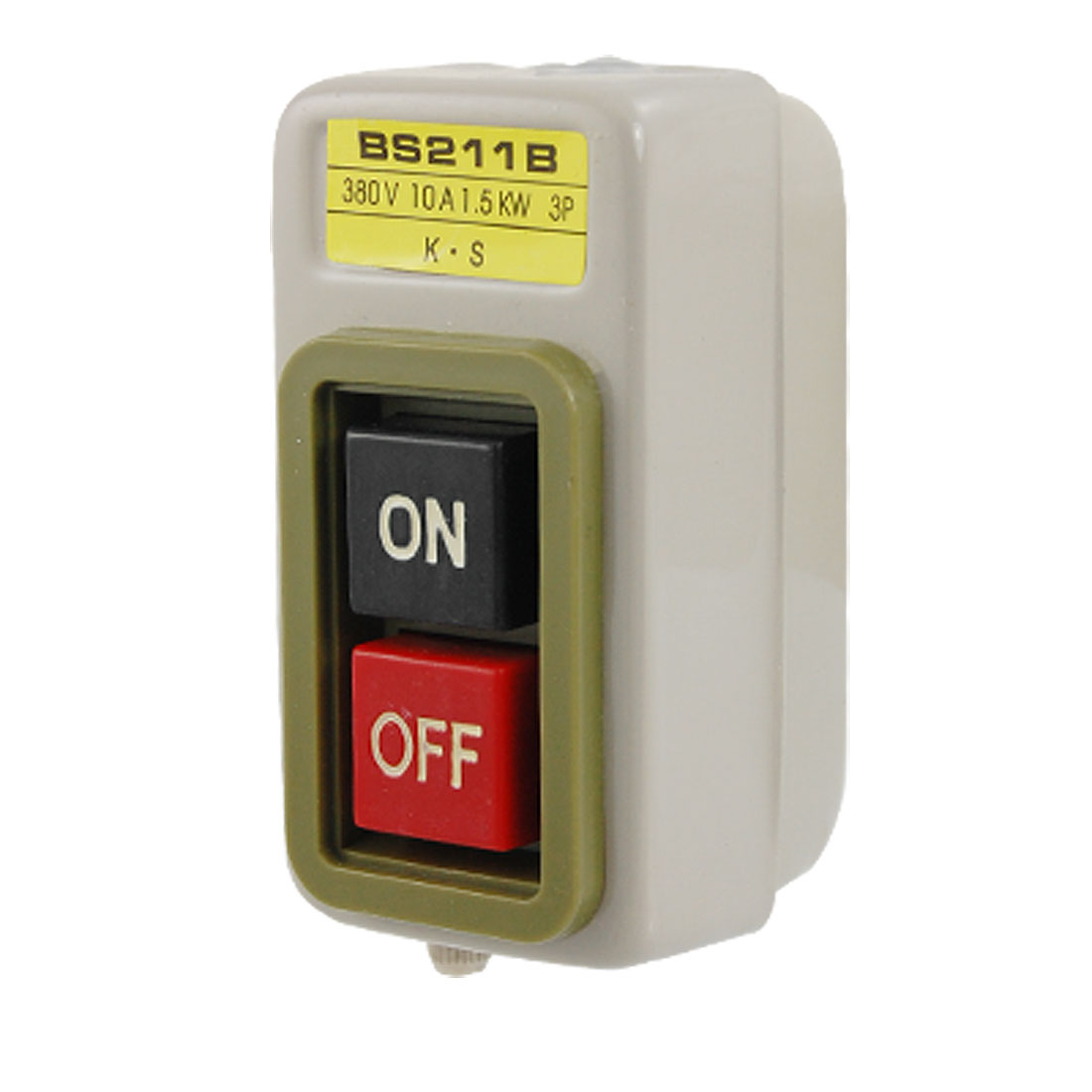 AC 380V 10A 1.5Kw ON OFF Control Push Button Switch