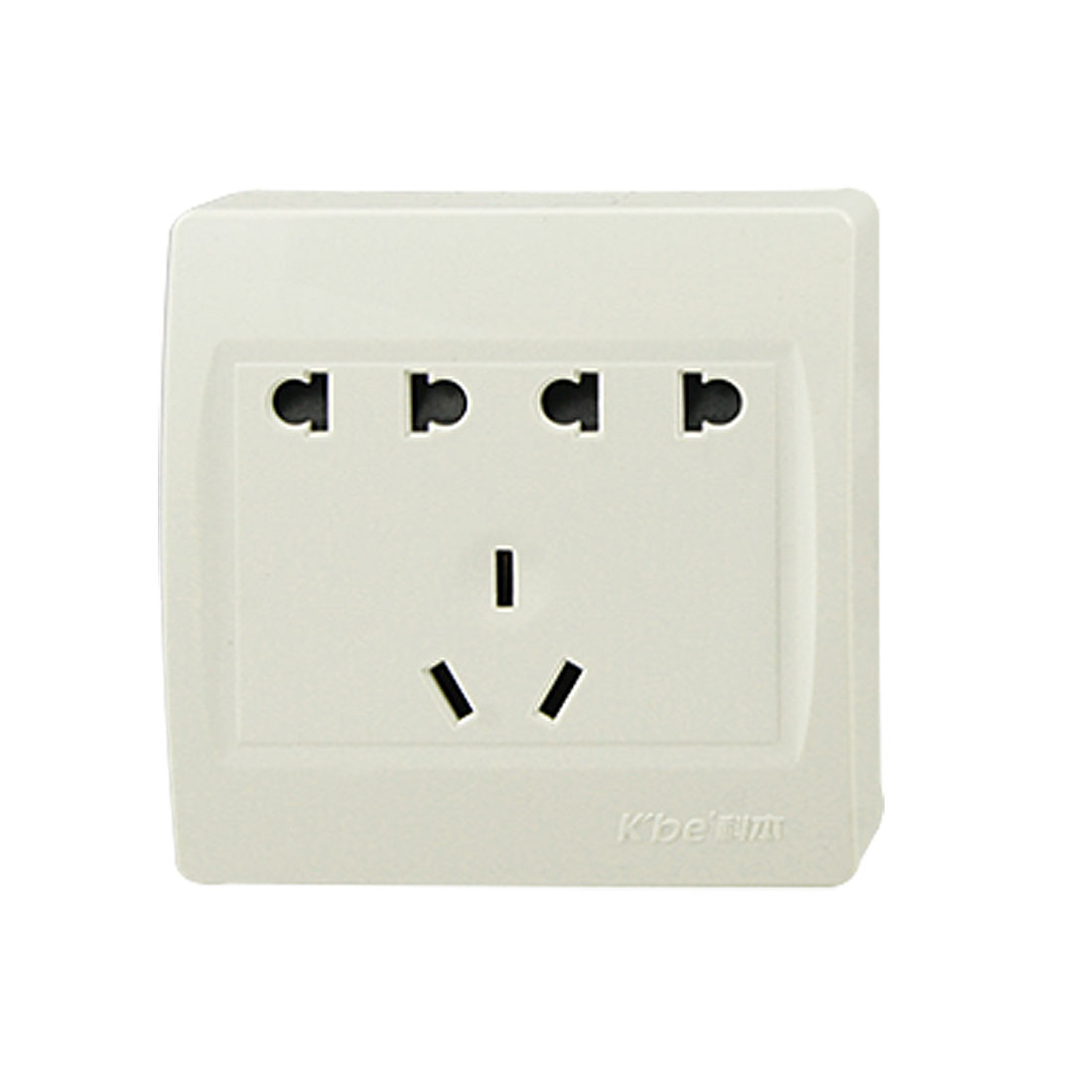 AC 250V 10A Dual 2 Pin EU US Socket 3 Pin AU Outlet Wall Plate