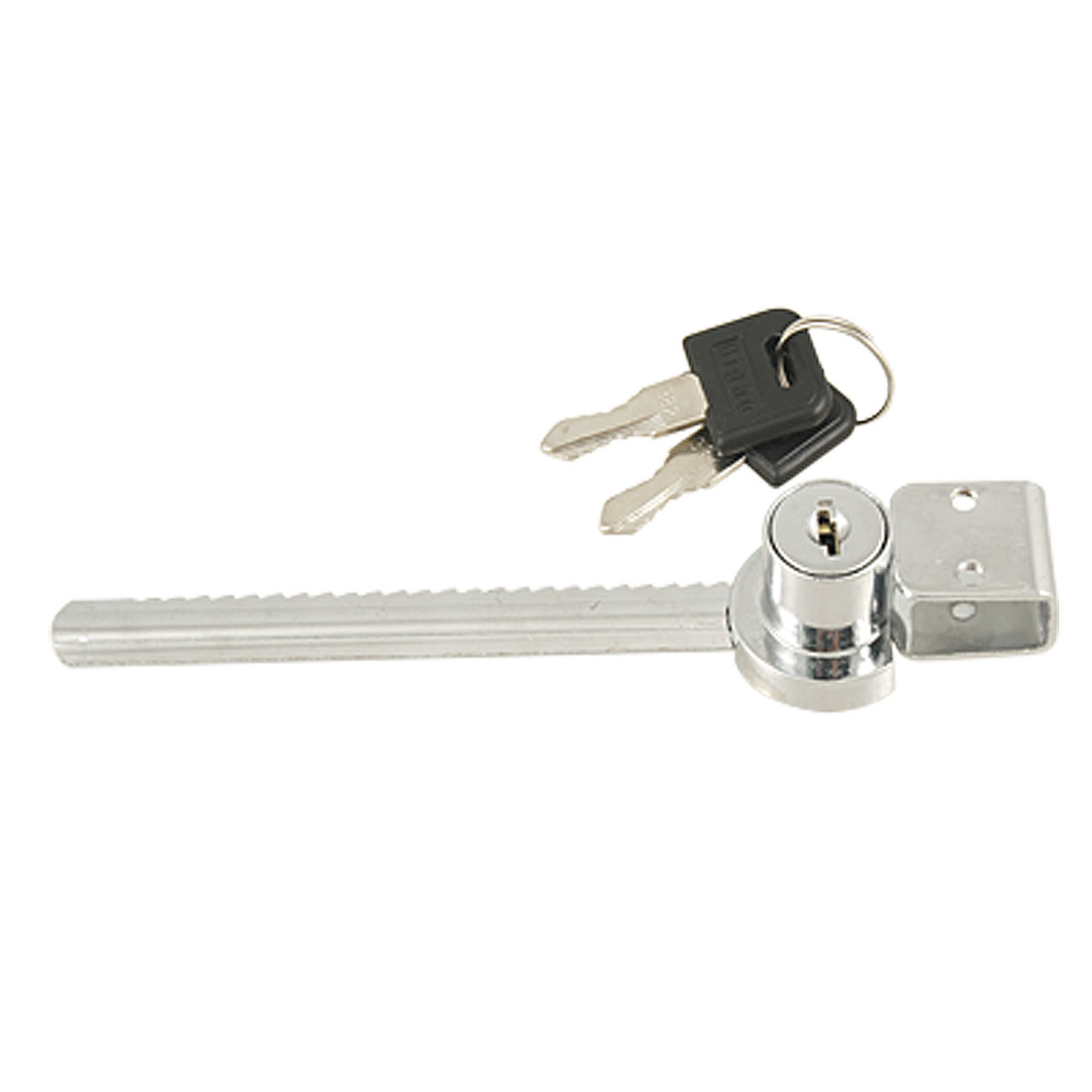 Sliding Blade Saw Lock w Keys for Glass Showcase Cabinet Counter