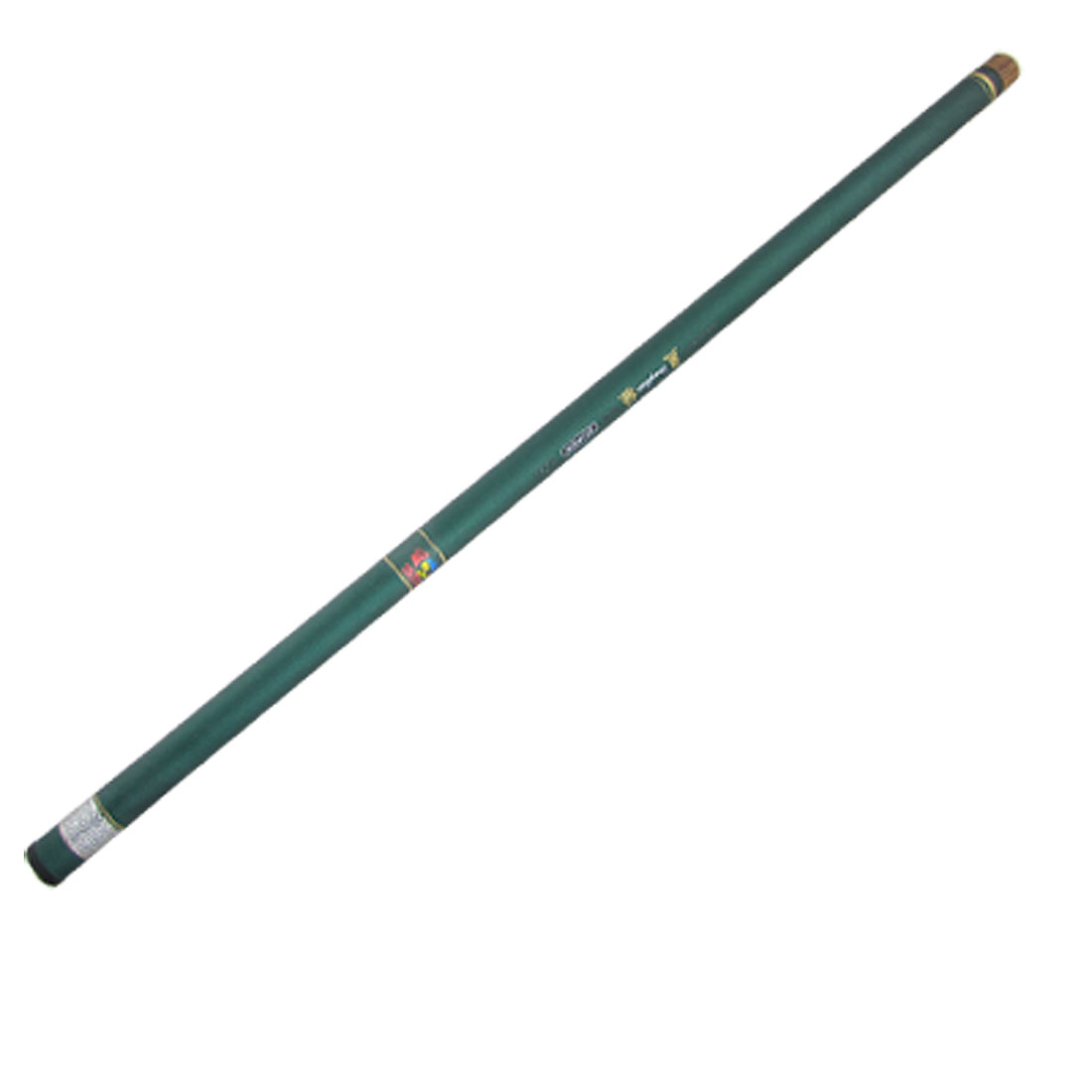 Freshwater Green Plastic 9 Sections Telescopic Fishing Rod 4.3M