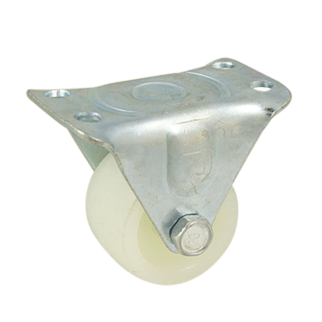 "1.5"" Dia Fixed Type Flat Plate Industrial Caster Wheel"