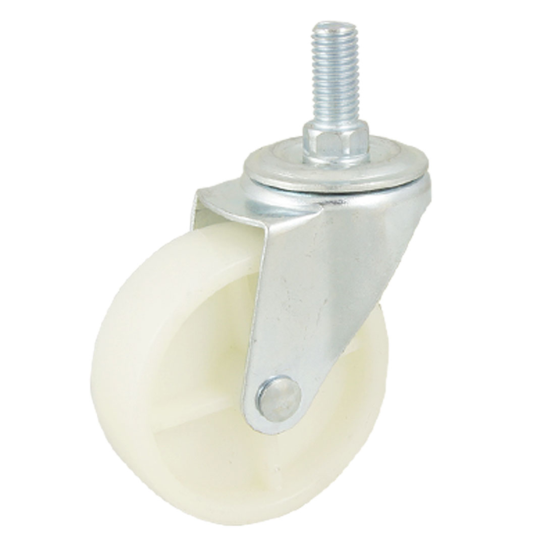 "Threaded Stem Light Duty Rotating 3"" Dia Industrial Caster Wheel"