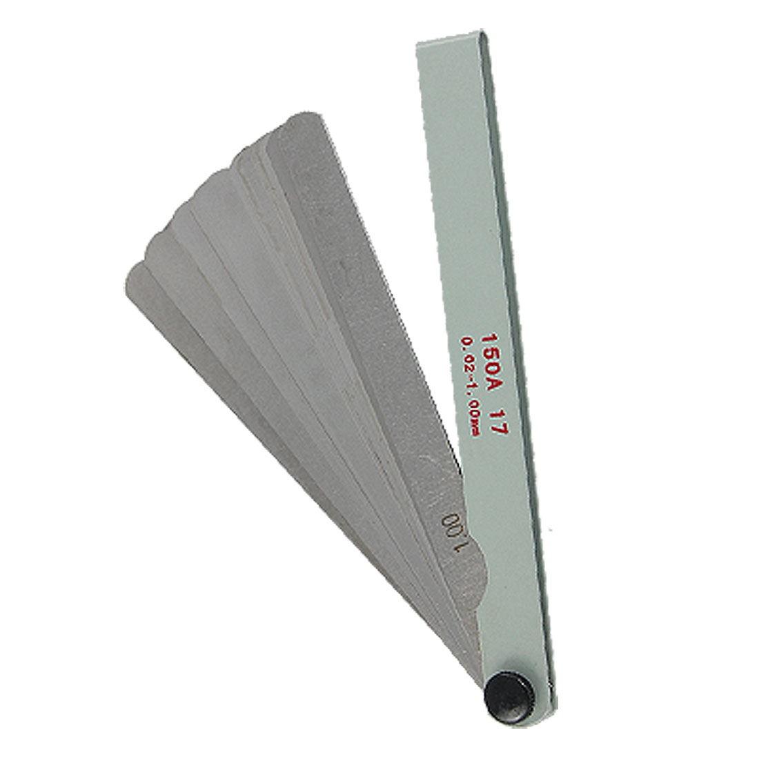 "6"" Length 0.02-1mm Thickness Measure Feeler Gauge"