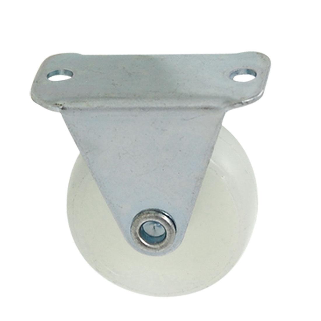 """1.2"""" Single Wheel Light Duty Fixed Type PP Industrial Caster"""