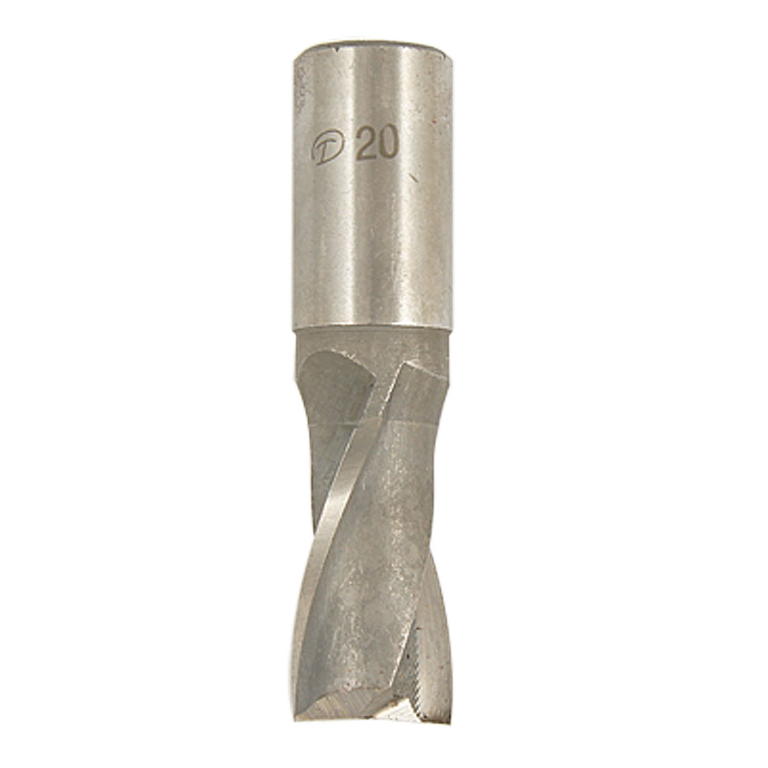 Straight Shank Two Flute 20mm Dia Keyway Milling Cutter Router Bit