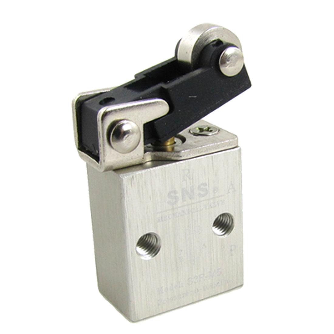 S3R-M5 2 Position 3 Way Pneumatic Component Mechanical Valve