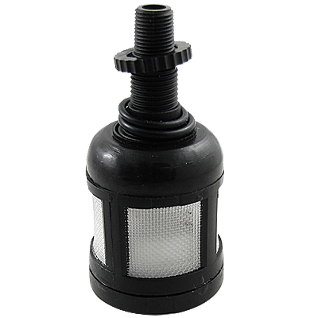 Black Plastic Discharging Water Cup Auto Drain Valve for Air Filters