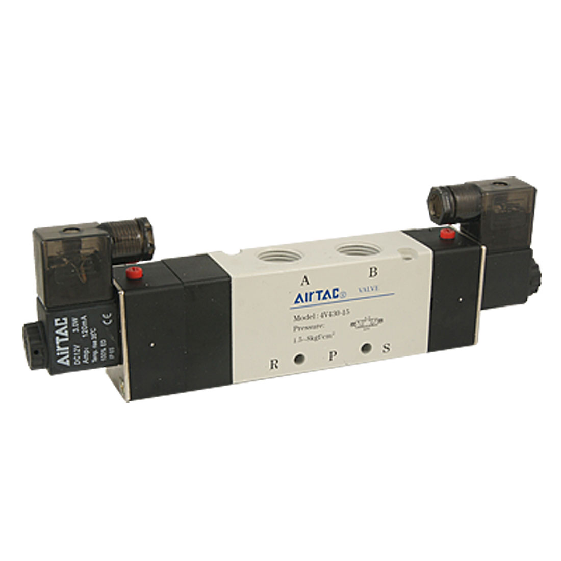 4V430-15 DC12V 3 Position 5 Way Pneumatic Solenoid Valve