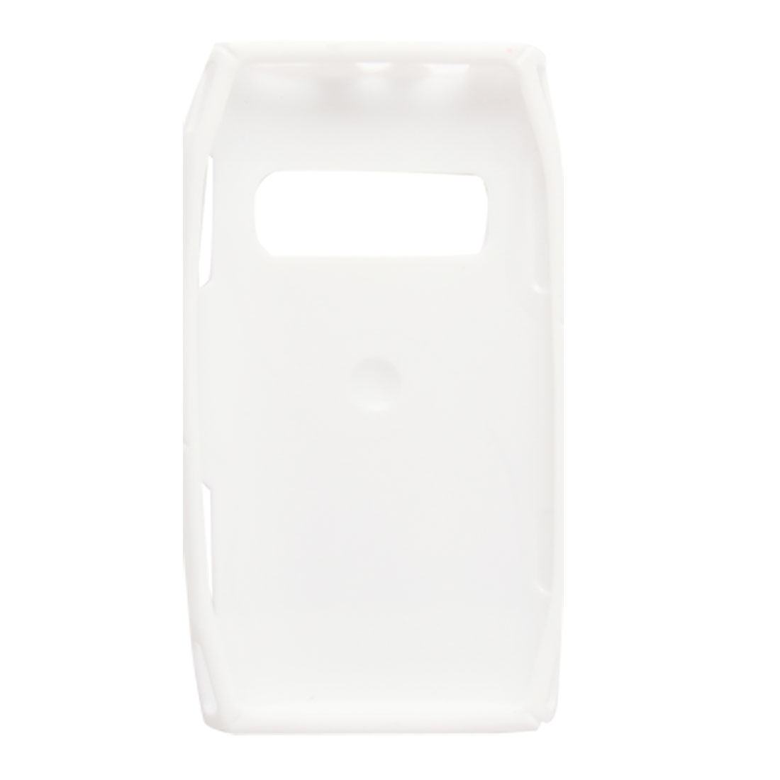 White Soft Plastic Textured Case Protector for Nokia X7