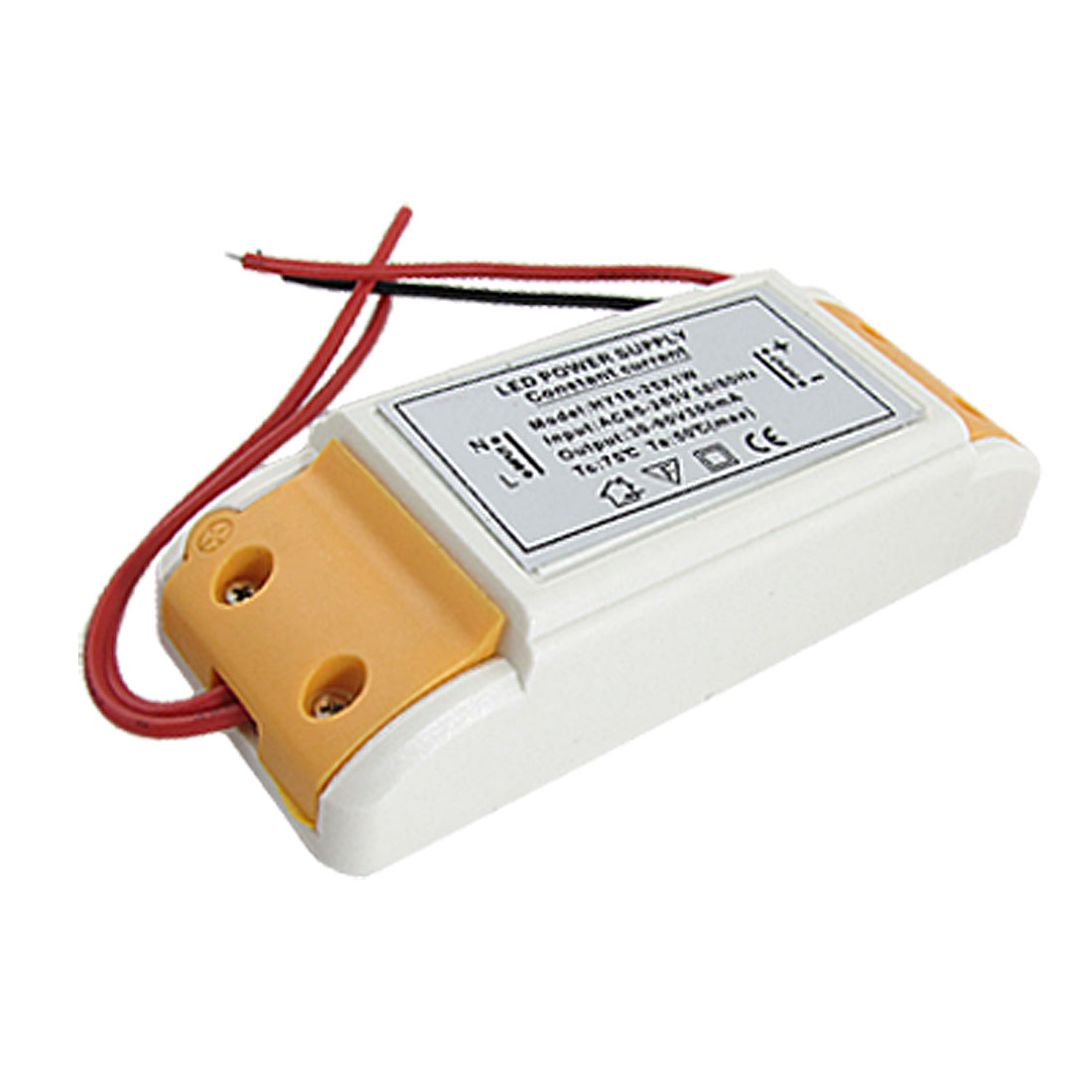 AC 85-265V DC 30-90V 300mA External Driver Power Supply for 25x1W LED Strip Light