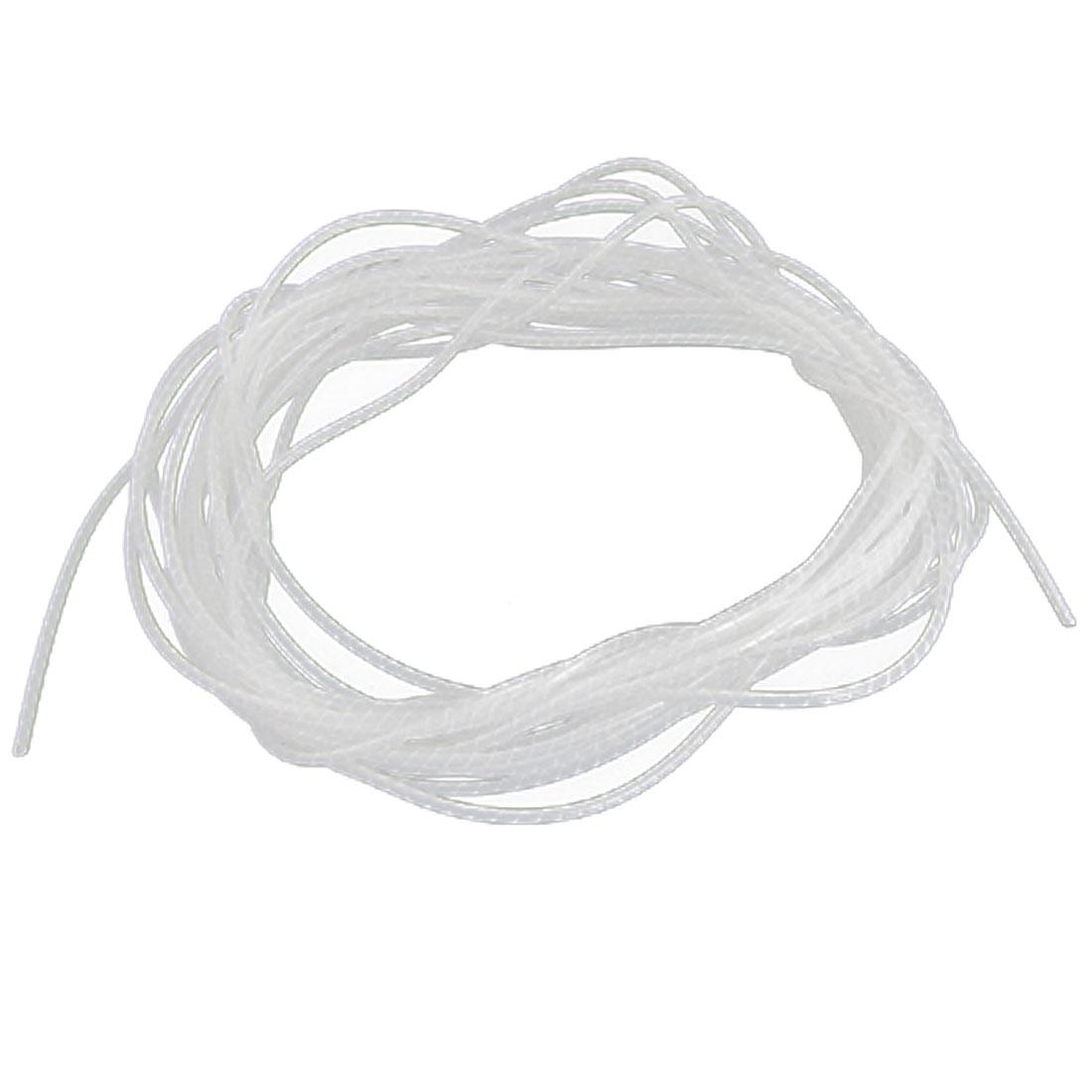 White PE 11M Insulation Binding Strength Spiral Wrapper