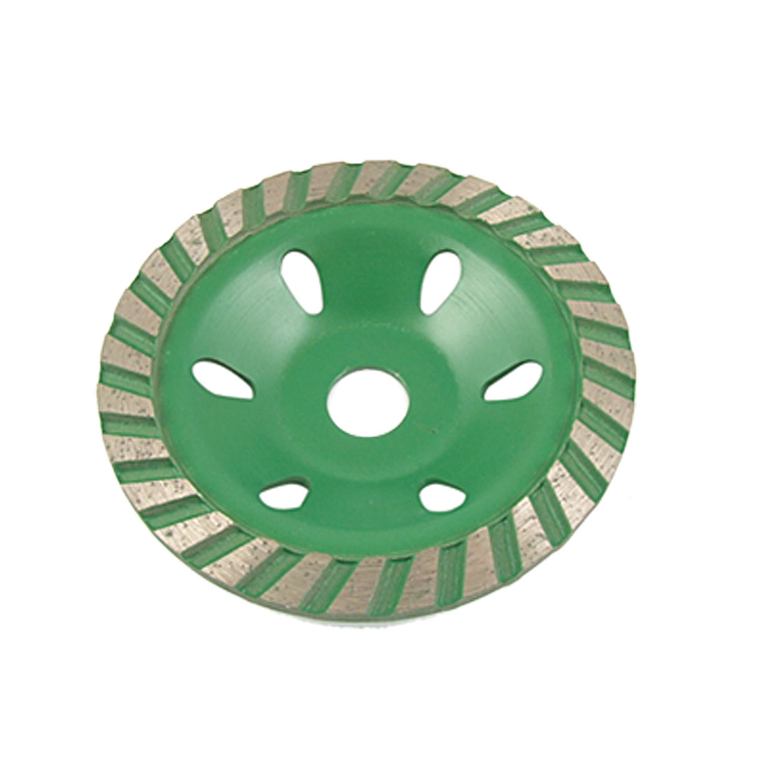 100mm Polishing Ceramic Concrete Grinding Disc Green Gray