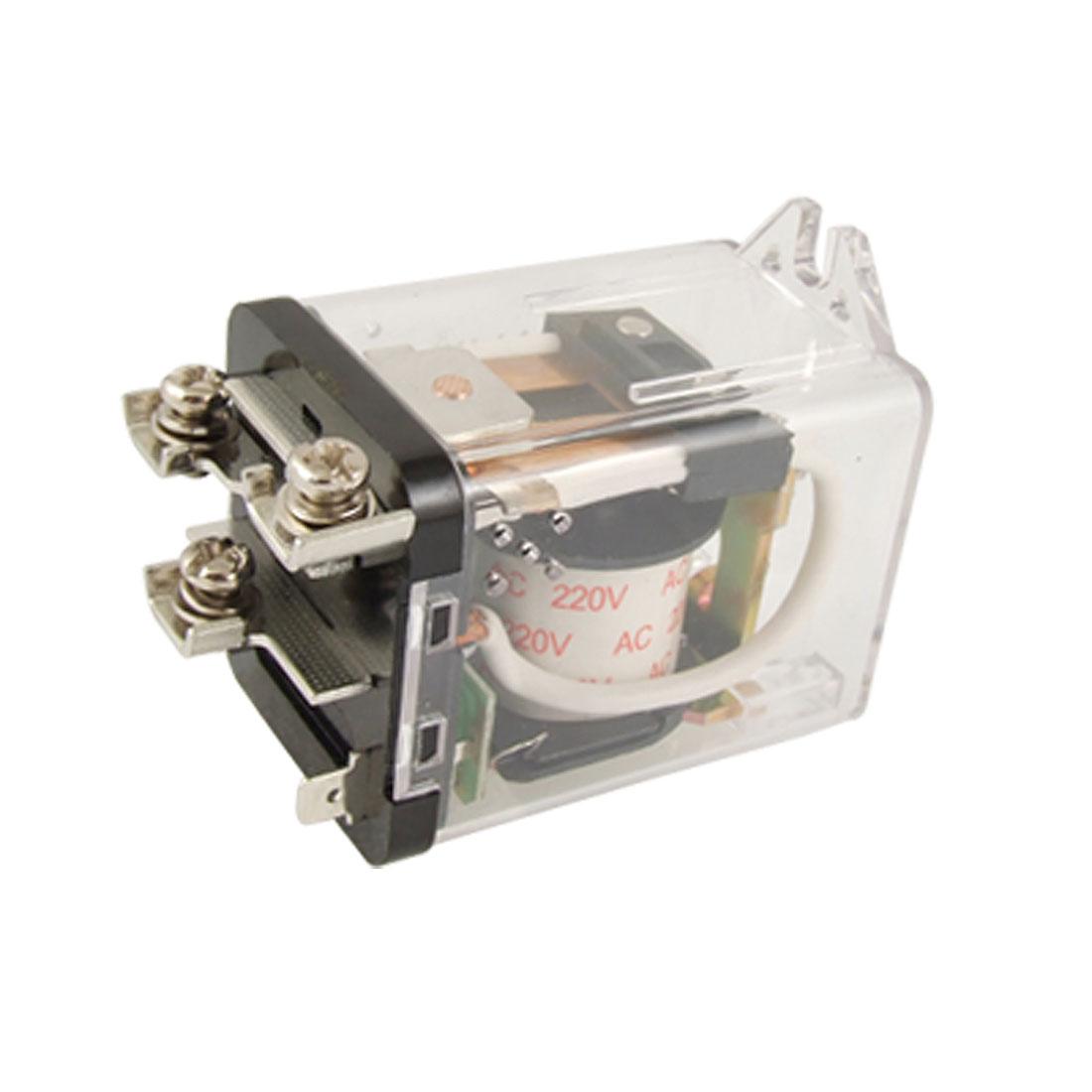 JQX-59F AC 220V Coil 80A 250V AC 28V DC Power Relay SPDT 5 Pin JQX-80F