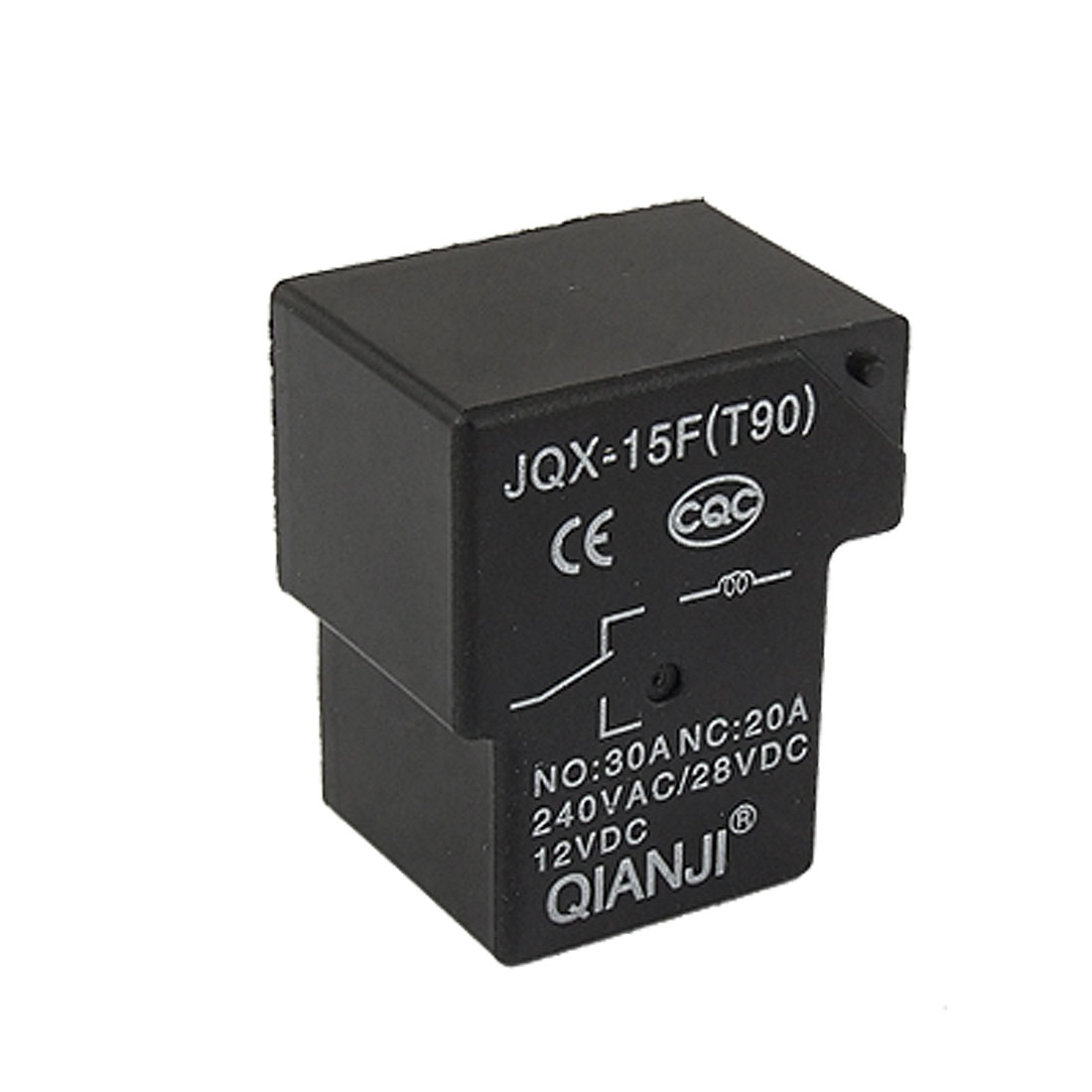 JQX-15F DC 12V Coil Miniature PCB Type Power Relay SPDT 6 Pin