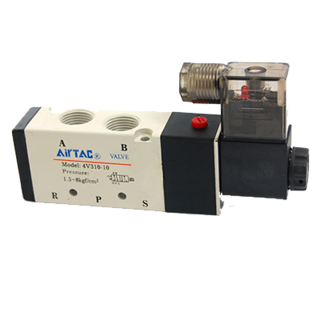 4V310-10 Inner Guard Type AC 220V Air Single Solenoid Valve