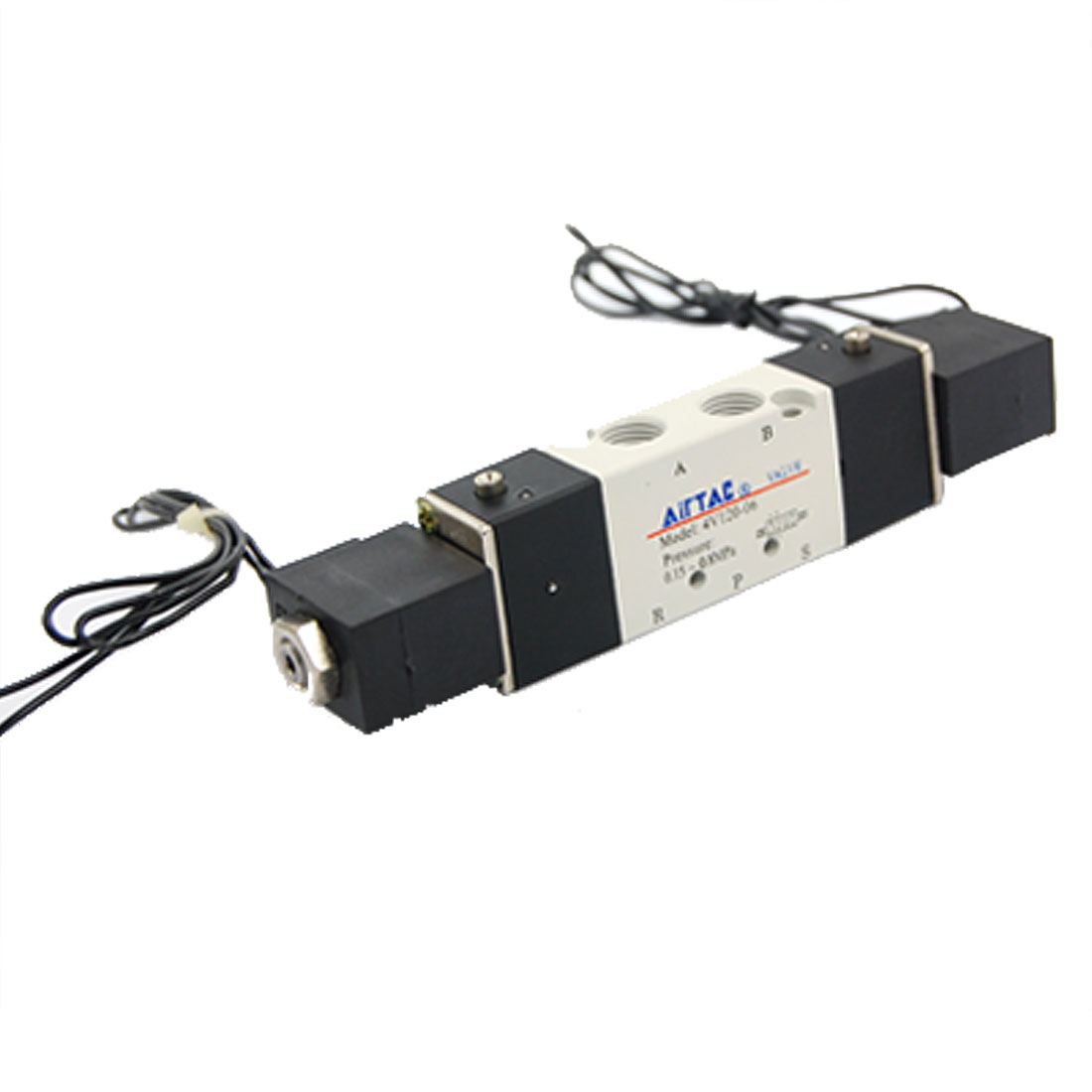 Double Coil 2 Position 5 Port Air Solenoid Valve AC220V 4V120-06