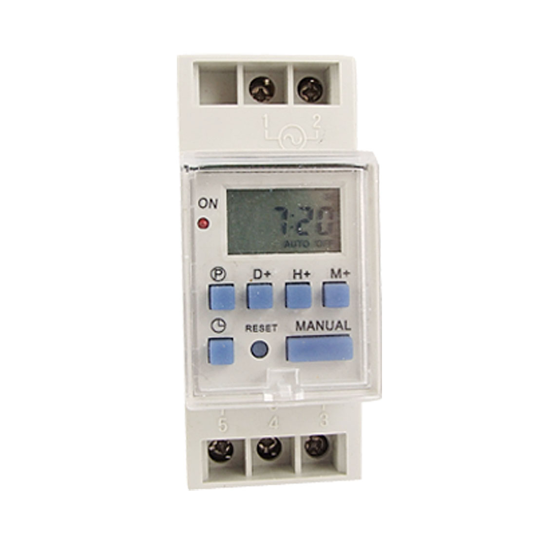 Week Time Reset 6 Function Key Programmable Time Switch AC 220V