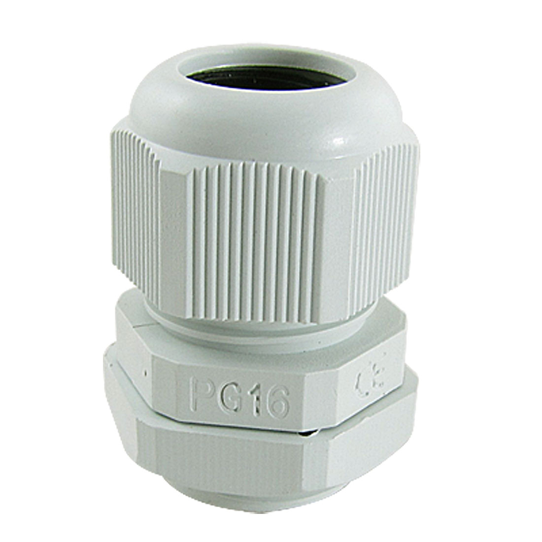 10 Pcs Waterproof PG16 Wht Plastic Cable Glands Joints