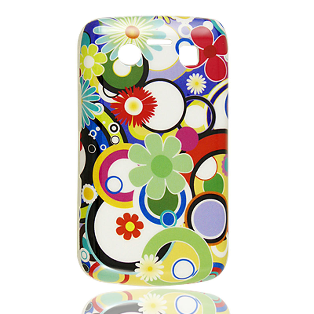 IMD Colorful Flower Printed Hard Plastic Case for Blackberry 9700 9020