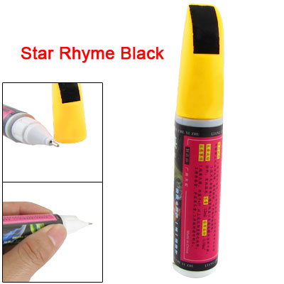 Motorcycle Car Scratches Repair Touch Up Paint Pen Black
