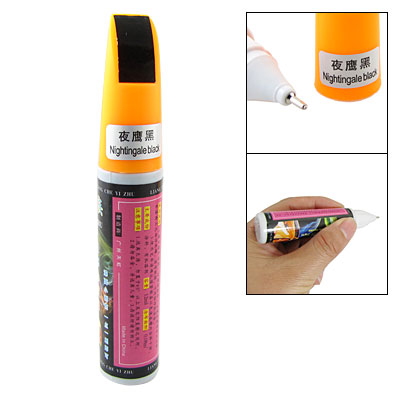 12 ML Nightingale Black Touch up Paint Pen for Car Vehicle