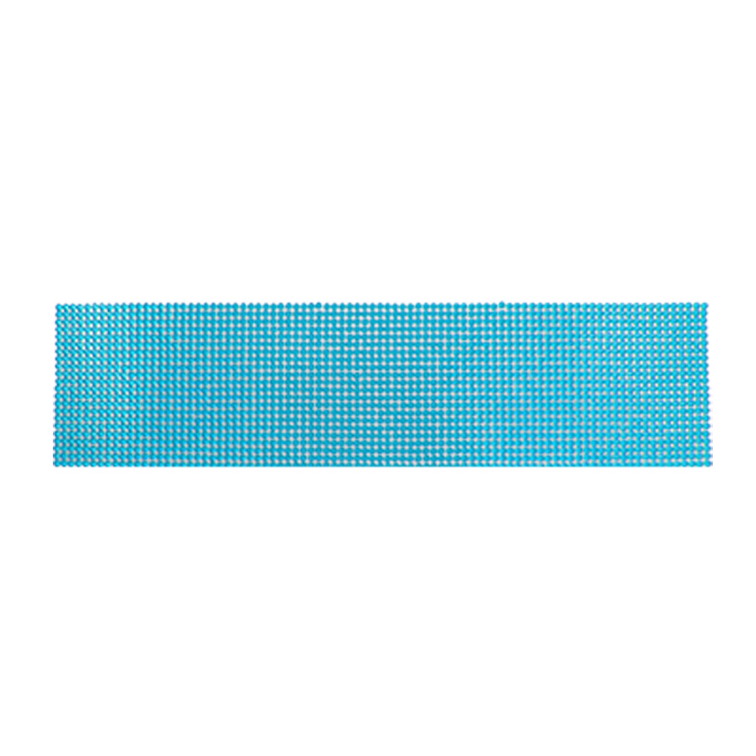 Self Adhesive Blue Plastic Facted Crystal Sticker Sheet for Car