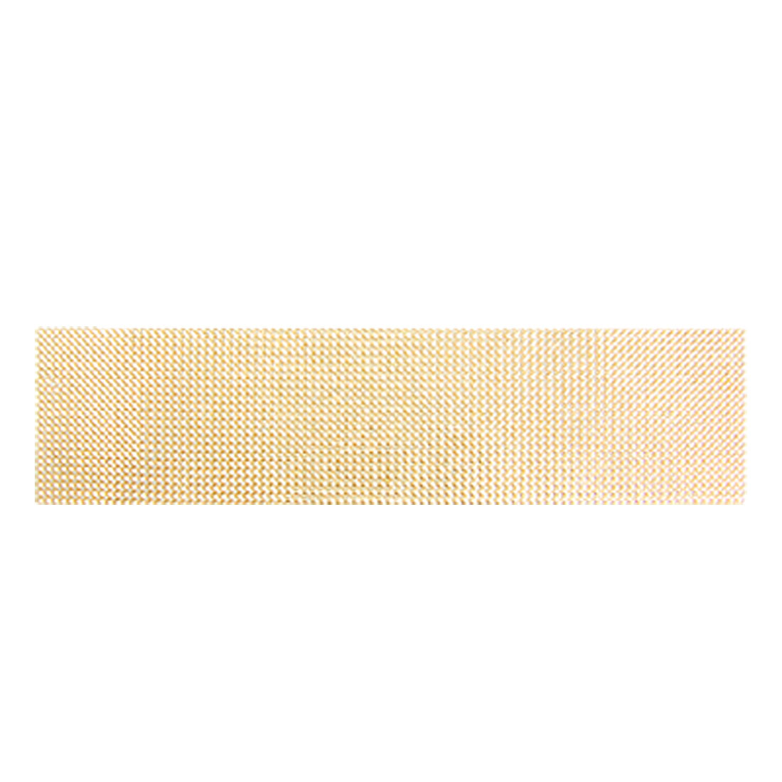 Brass Tone 4mm Diameter Plastic Crystal Sticker Sheet Decor for Car