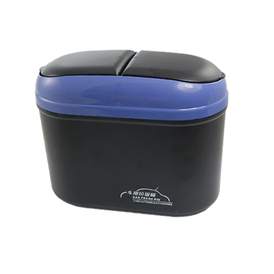 Auto Car Black Blue Plastic Trash Rubbish Garbage Bin Box Can