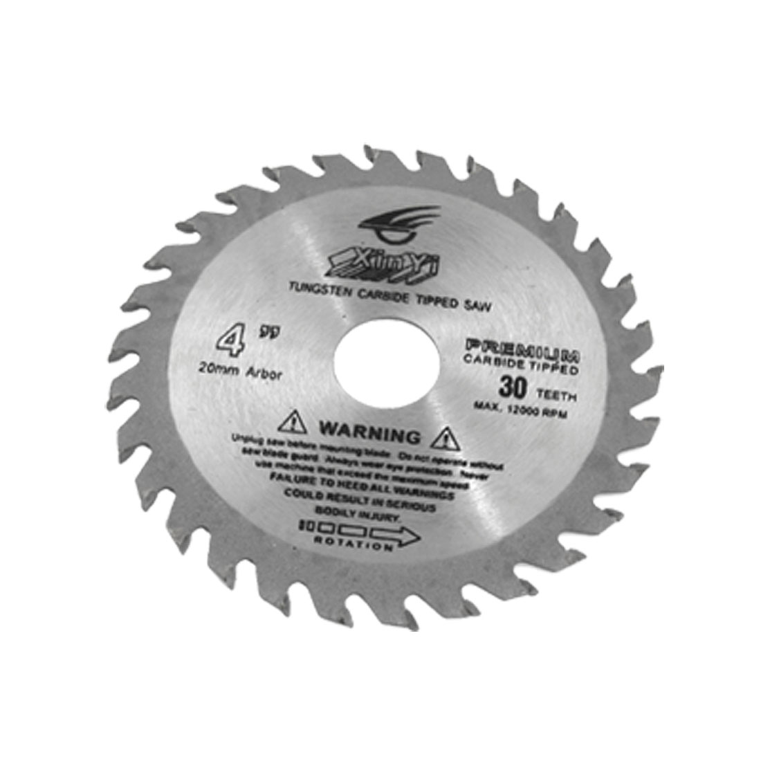 "Woodworking 4"" Diameter 30 Toothed Circular Saw Cutter"
