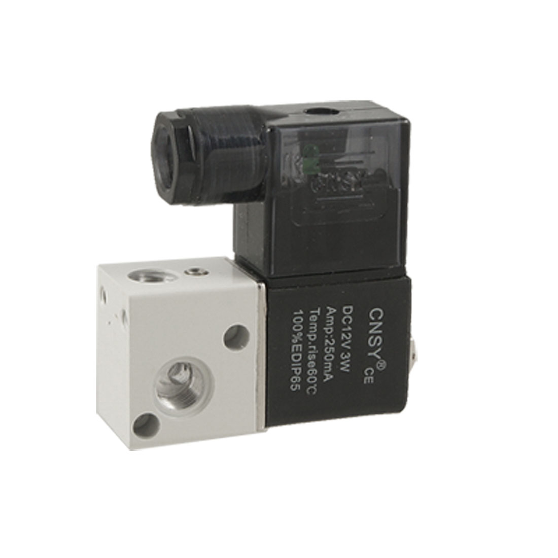 DC 12V 250mA 2 Position 3 Way Pneumatic Solenoid Valve