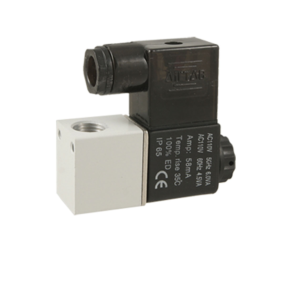 Direct Action 2 Position 2 Way AC 110V Pneumatic Solenoid Valve