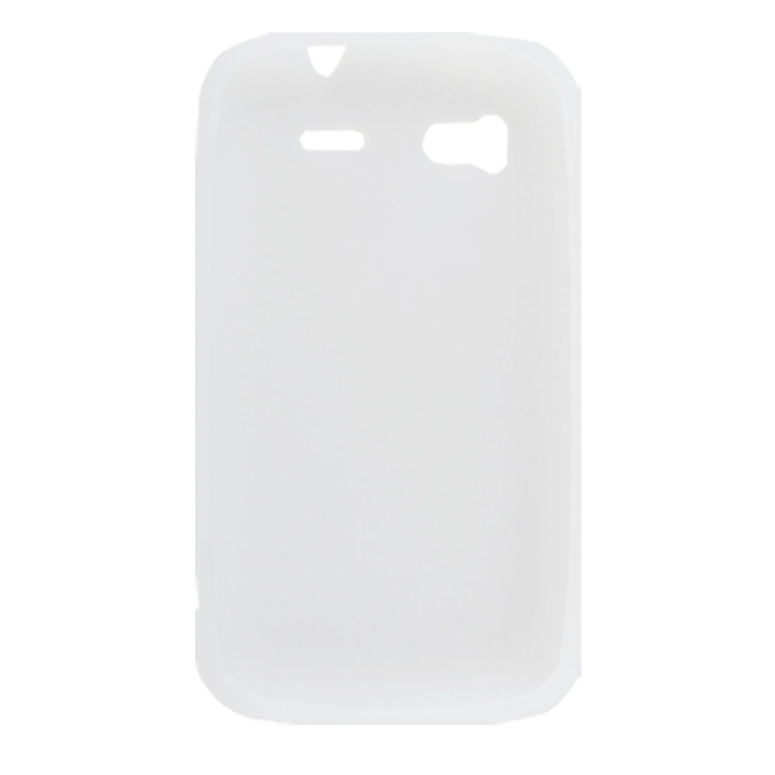 White Silicone Protective Case Cover for HTC Sensation 4G