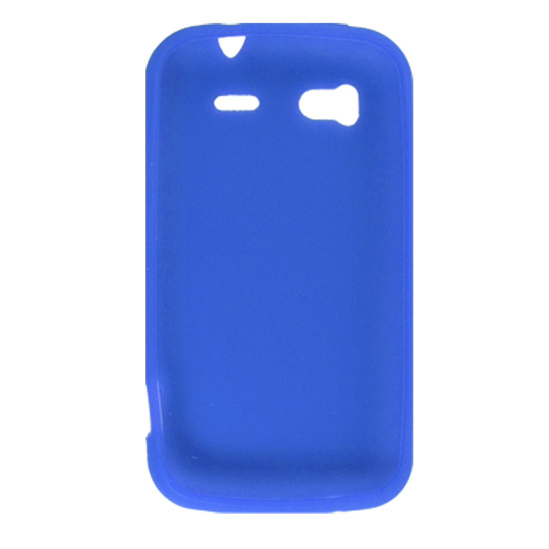 Protective Silicone Skin Cover Blue for HTC Sensation 4G