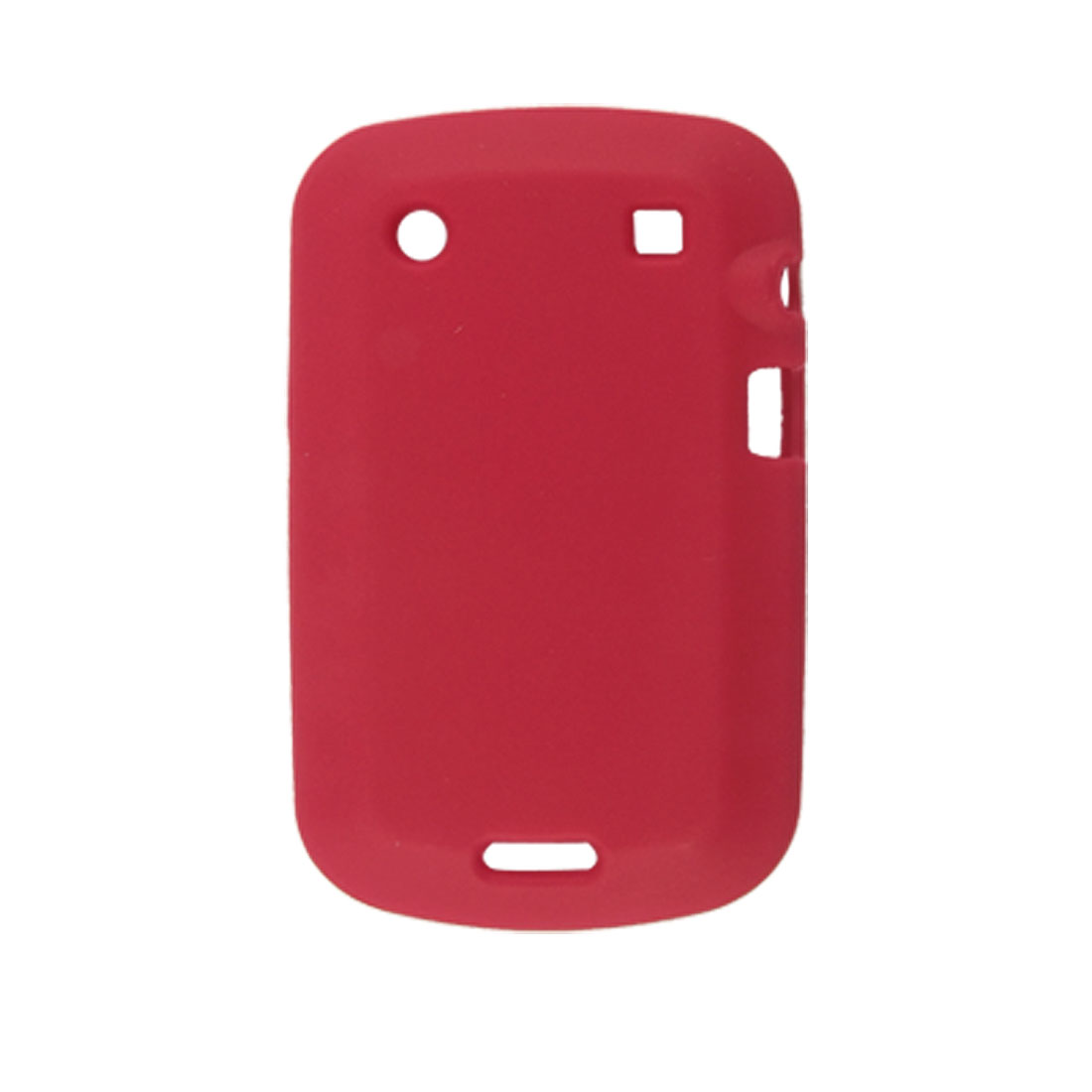 Red Silicone Skin Cover Case for Blackberry 9900 9930