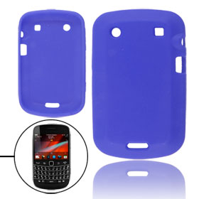 Royal Blue Silicone Skin Cover for Blackberry 9900 9930