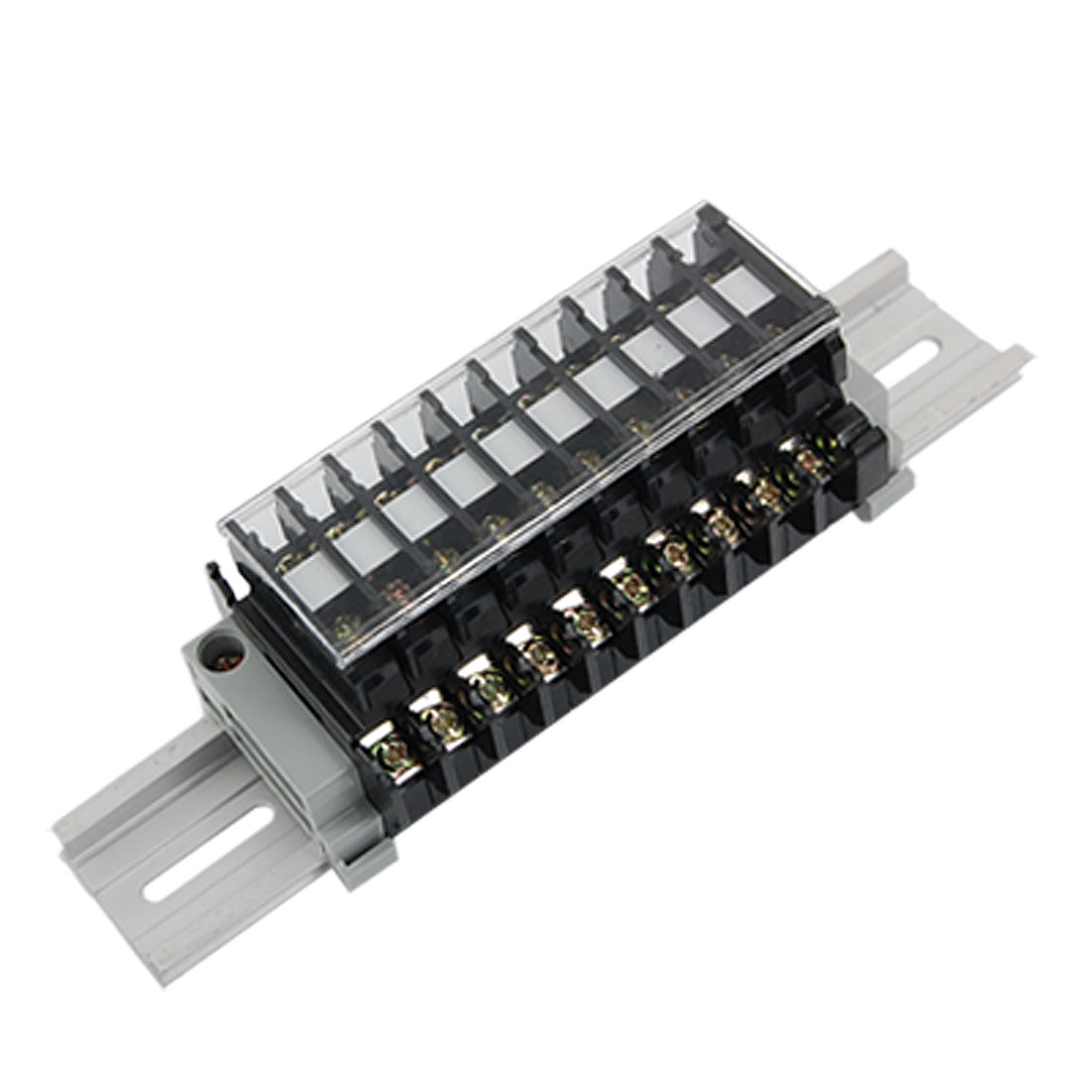 660V 10A Double Row 20 Position Barrier Terminal Block