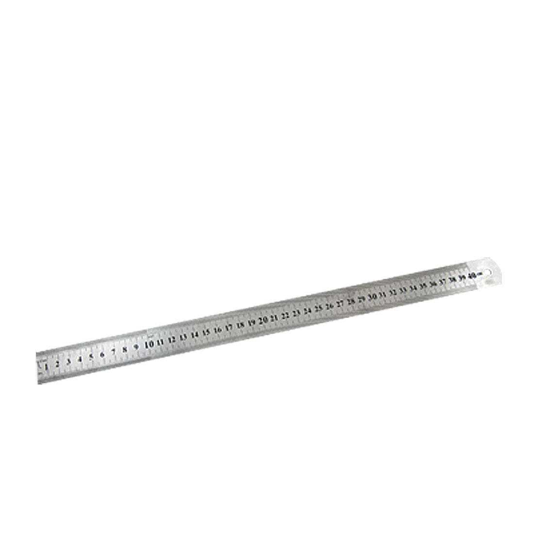 Precision Mark Stainless Metal 40cm Length Measure Ruler