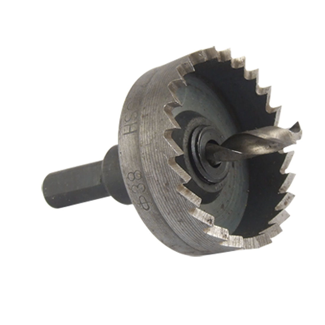 38mm Cutting Dia Twist Drilling Bit Metal Hole Saw Cutter