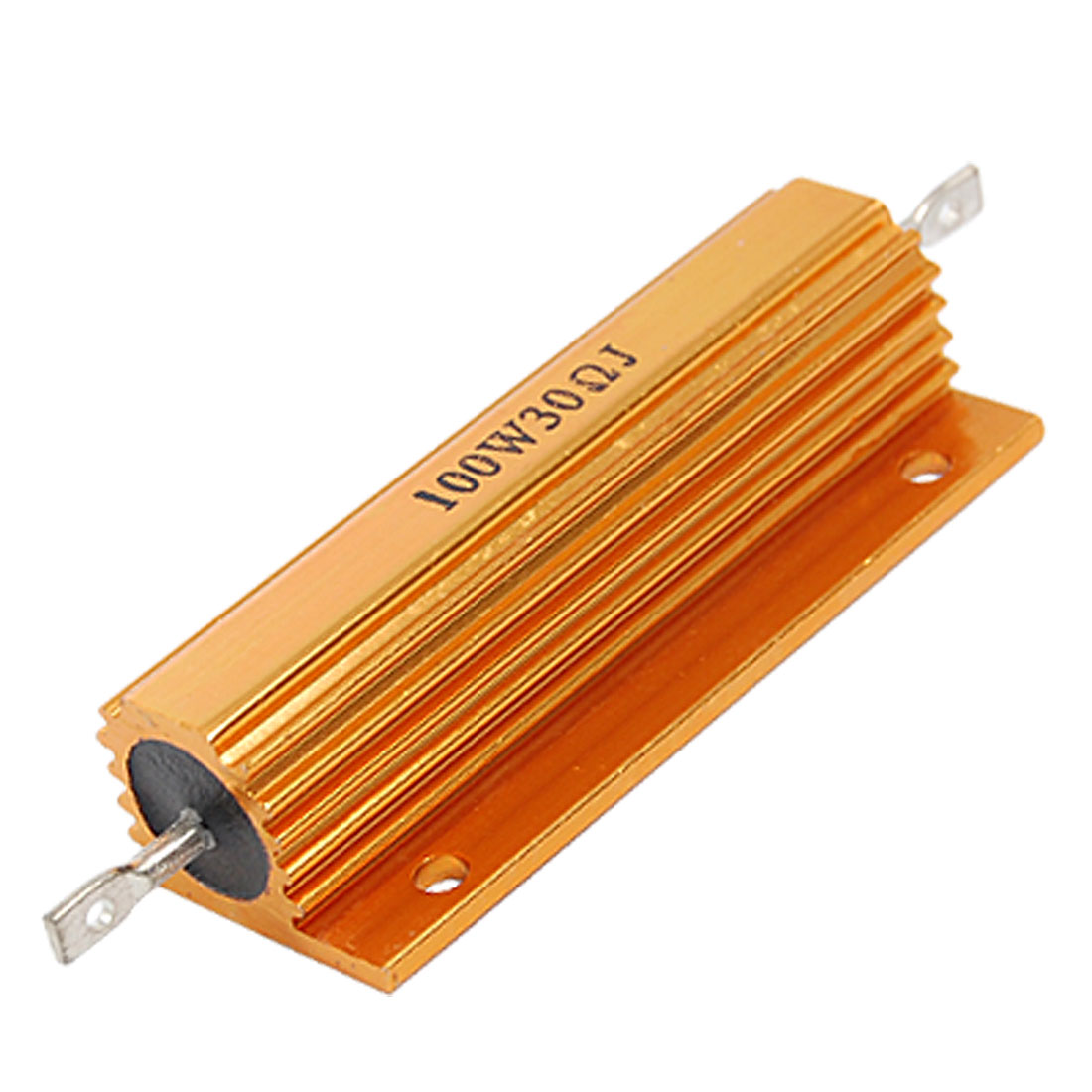 100W 30 Ohm 5% Chasis Mounted Aluminum Housed Resistor