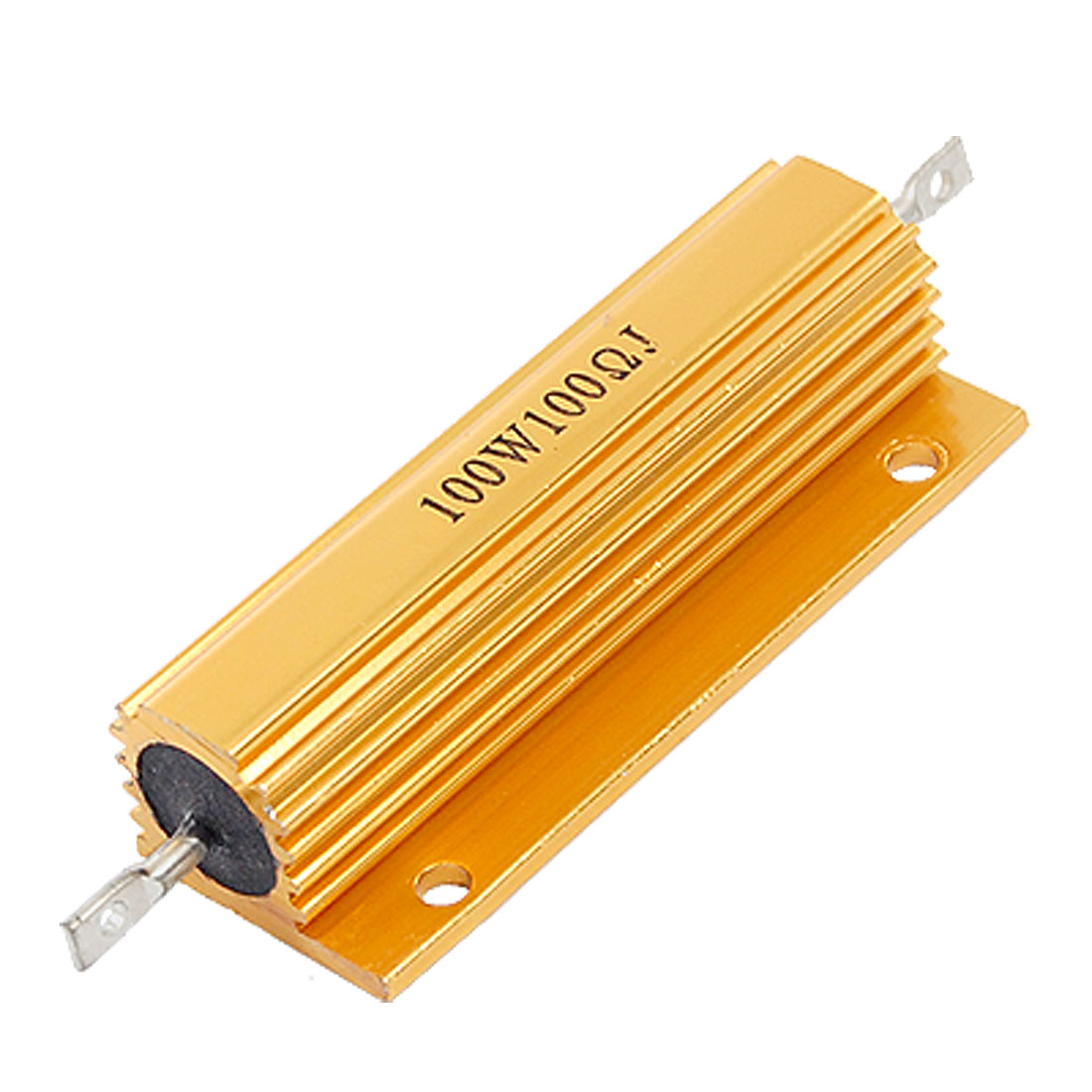 Chasis Mounted Aluminum Housed Wirewound Resistor 100W 100 Ohm 5%