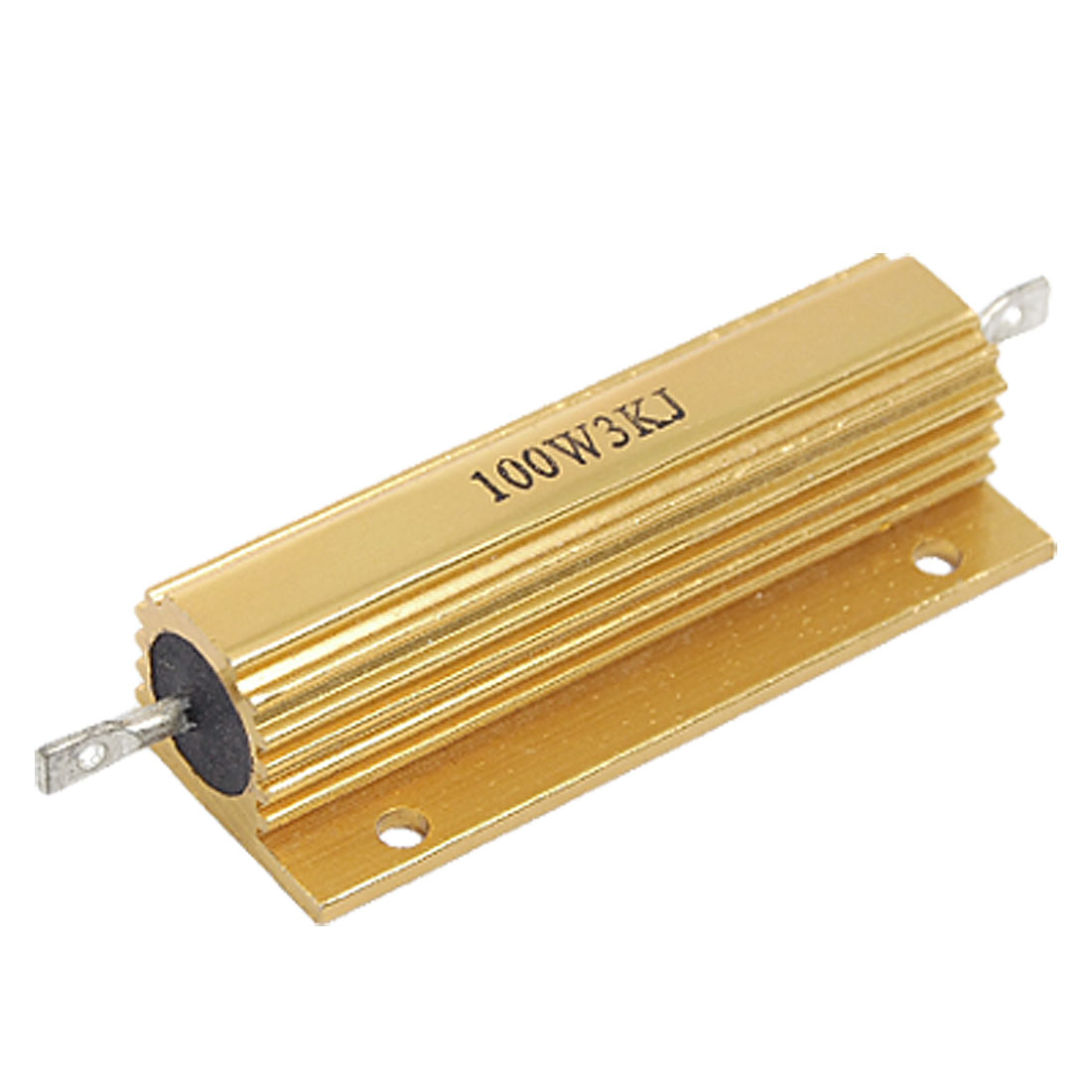 100W Power 3K Ohm 5% Aluminum Wire Wound Casing Resistor