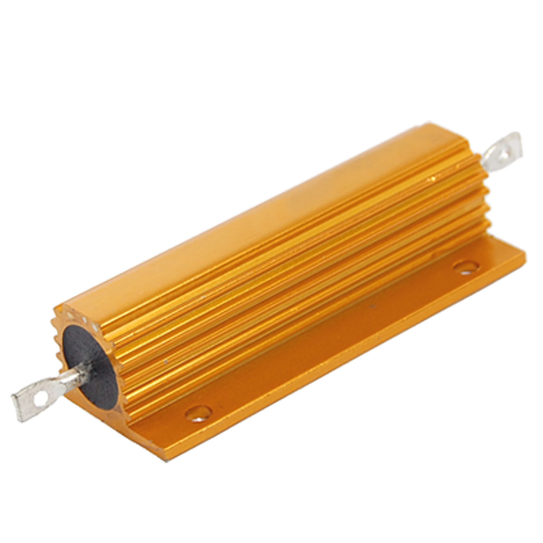 Electrical Chasis Mounted Aluminum Resistor 1 Ohm 5% 100W