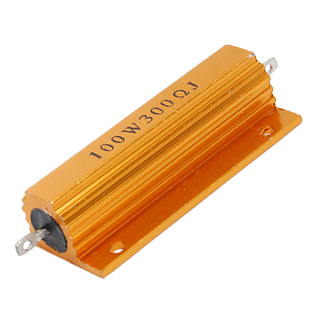 100W 300Ohm 5% Chasis Mounted Aluminum Housed Wirewound Resistor